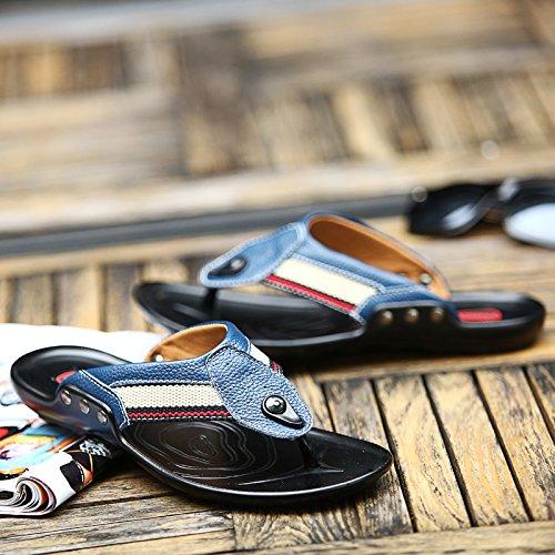 les jeunes hommes est de tongs, les sandales, summer soft soled pantoufles US7/EU39/UK6/CN39
