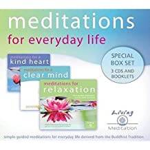 Meditations for Everyday Life (Audio 3 CDs) : Special Box Set 3 CDs and Booklets