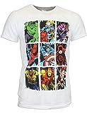 Marvel Comics - Maglietta a maniche corta per uomo - Medium