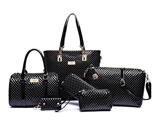 Niedlich Damen Handtaschen, Hobo-Bags, Schultertaschen, Beutel, Beuteltaschen, Trend-Bags, Velours, Veloursleder, Wildleder, Tasche Mehrfarbig 3 Keshi