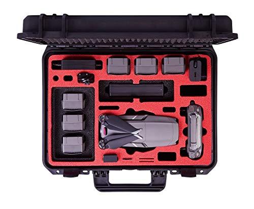MC-CASES® Koffer für DJI Mavic 2 Pro & Zoom - EXPLORER EDITION - mit viel Platz für Zubehör (Smart Controller + Standard Controller) - Made in Germany Deckel-case