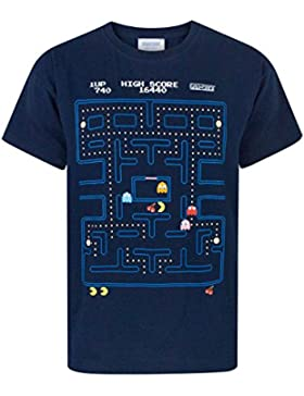 Pacman Classic Action Scene Boy's T-Shirt