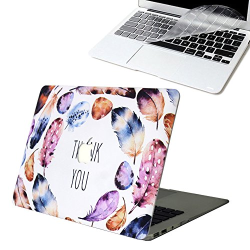 MacBook Pro 15 Case 2017/2016 Release A1707, [Grateful You] Soundmae Frosted Plastic Hard Shell Smooth Case&Keyboard Cover for MacBook Pro 15
