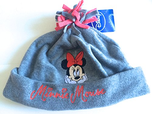 ref5b80-lic-226-mutze-fleece-minnie-kinder-grau-lizenz-offizielle-minnie-mouse-disney-grosse-55-6-10