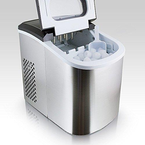 Eiswürfelmaschine von MS-Point – Eiswürfelbereiter (Edelstahl)