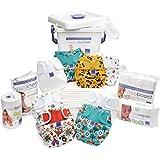 Bambino Mio, Miosoft Reusable Nappy Premium Birth to Potty Pack, Unisex