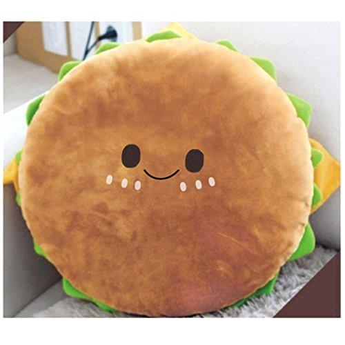 Preisvergleich Produktbild Tinksky Hamburger Plüschkissen Yammy essen Spielzeug gefüllt Baumwolle Throw Pillow