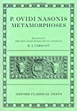 Ovid Metamorphoses (Oxford Classical Texts)