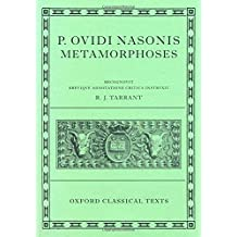 Ovid Metamorphoses (Oxford Classical Texts)