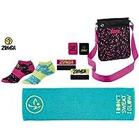 Zumba Fitness Zubehör- und Trainingsset Trend   Umhängetasche, Handtuch, Stirn- und Schweißbänder, Kompressionsstrümpfe... preisvergleich bei billige-tabletten.eu