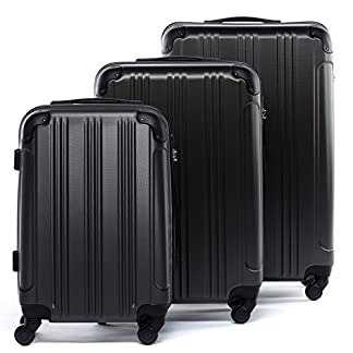 FERG-Koffer-Kofferset-Hartschale-3-teilig-QUBEC-Trolley-Set-Handgepck-55-cm-L-XL-4-Rollen