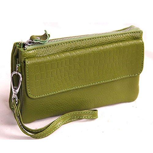 Eysee, Poschette giorno donna Rosso viola 17cm*16cm*5cm verde