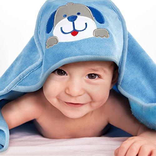 Mias Baby Badehandtuch mit Kapuze – Bade-Poncho, Kapuzenhandtuch für empfindliche Baby-Haut nach dem Baden – für Babys und Kleinkinder