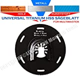 Universal HSS lama 100mm per legno metallo alluminio rame plastica. Lama per sega circolare si adatta a multi Master Fein Bosh Makita Skil