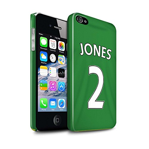 Offiziell Sunderland AFC Hülle / Glanz Snap-On Case für Apple iPhone 4/4S / Pack 24pcs Muster / SAFC Trikot Away 15/16 Kollektion Jones