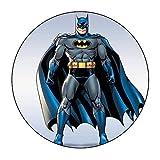 Batman Runde Tortenaufleger