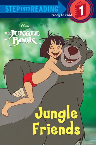Jungle Friends (Disney Jungle Book) (Step Into Reading. Early Books)