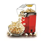 Best Hot Air Poppers - Jannat Red Hot Air Popcorn Maker Popper Popping Review