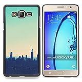 For Samsung Galaxy On7 O7 Case , Skyline Stadt Nyc New York