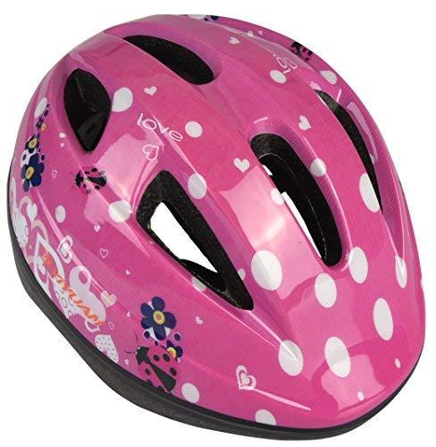 Yiyuan Kinder Fahrradhelm Erwachsener Fahrrad Helm Sturzhelm Reithelm Road Mountainbike Helm Rosa Blau und Rot, XS (48-52cm) Y-03 (Rosa)