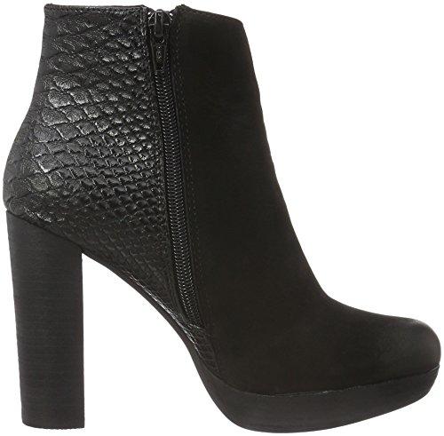PMS Nano Ankle Boot, Bottes Classiques femme Noir - Schwarz (Black/Black)