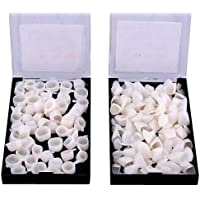 100pcs High Quality Dental Temporary Crown Veneers Material Anterior Front Back Molar Teeth by Bestdental