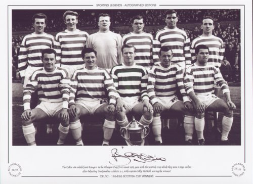 1965 Celtic-Scottish Cup Winners-Billy McNeill Signed Limited Ed -