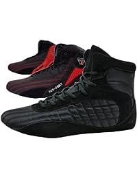 FOX-FIGHT Kampfsport Schuhe Ringer Schuhe athletik Fitnesschuhe Bodybuilding