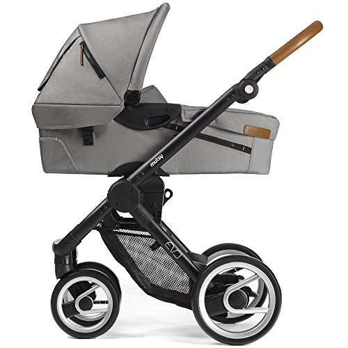 Mutsy Kinderwagen EVO - Urban Nomad light grey / black - Modell 2016