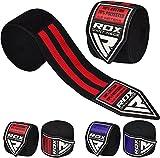 RDX Boxen Boxbandagen Wraps MMA Elastisch Handschuhe Daumenschlaufe Innenhandschuhe 4,5 Meter Muay Thai