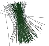 100 Stück Steckdraht, Basteldraht, grün, 0,8 mm x 300 mm, Blumendraht