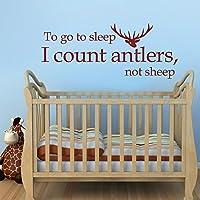 mairgwall Nursery decalcomania di Go To Sleep