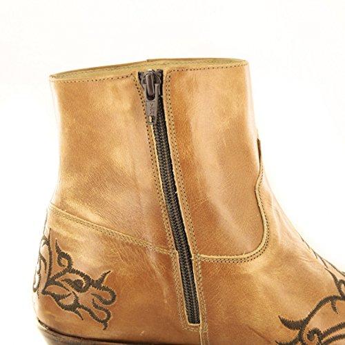 Sendra Boots  7216, Bottes et bottines cowboy mixte adulte Beige - Siena