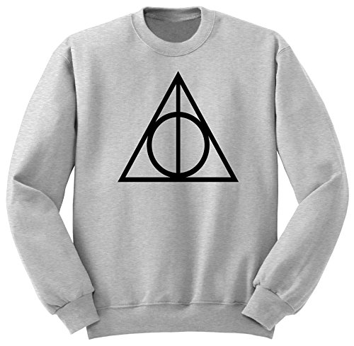 Harry Potter / Deathly Hallows / Sweatshirt / Pull / SW40 Gris