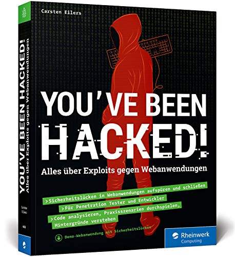 You've been hacked!: Alles über Exploits gegen Webanwendungen.