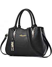 2018 New Designer handbags for women, BESTOU Ladies handbags PU leather women bags for work, shopping, date, party, Christmas