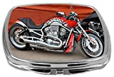 Rikki Knight Compact Mirror, Retro Harley Davidson Motorcycle