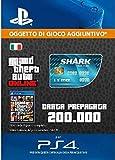Grand Theft Auto Online - GTA V Cash Card   200,000 GTA-Dollars   Codice download per PS4 - Account italiano
