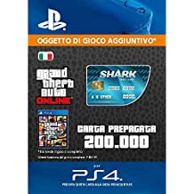 Grand Theft Auto Online - GTA V Cash Card | 200,000 GTA-Dollars | Codice download per PS4 - Account italiano