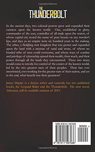 The Thunderbolt: Volume 1 (Carthage-Rome Series)