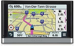 """Garmin Nüvi 2597LMT Europa, 5"""", Mappa Europa Completa 45 Paesi, Infotraffico Premium e Aggiornamento Mappe a Vita Incluso, Vivavoce Bluetooth Live Ready, Attivazione Vocale, Colore Nero"""