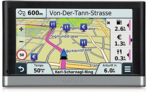 Garmin Nüvi 2597LMT - GPS para coches de 5' (mapas de Europa general), negro
