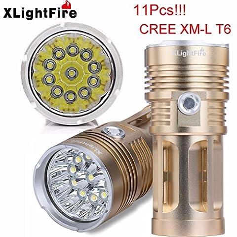 Flashlight,BBring XLightFire 25000LM 10 x XM-L T6 LED Hunting Flashlight