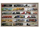 Alsino V37 Vitrine Spur N Setzkasten Holz Regal Sammlervitrine H0 Mini Truck 90 cm ... B00469U1LY