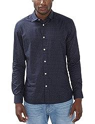 ESPRIT Herren Freizeit Hemd mit Print