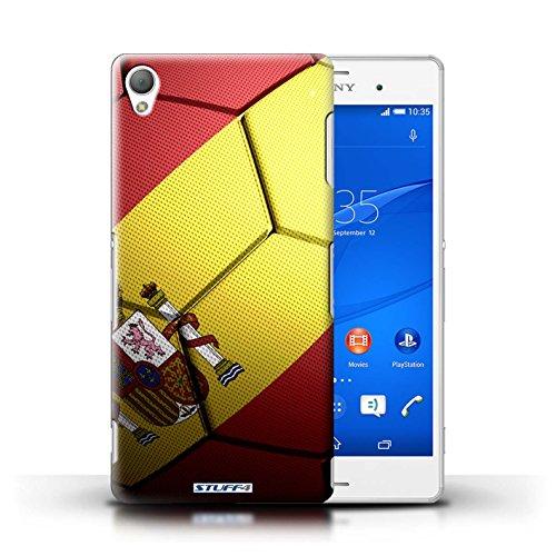 Kobalt® Imprimé Etui / Coque pour Sony Xperia Z3 / Portugal conception / Série Nations de Football Espagne/Espagnol