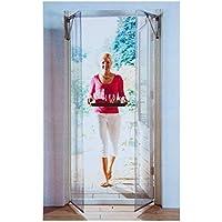Sesam Door bootskiste mosquitera para puerta protección antimosquitos neotrade Red
