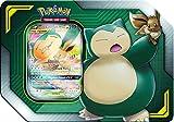 Pokémon POK80531 TCG: Eevee & Snorlax-GX Tag Team Blechdose