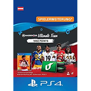 Madden NFL 20 – 1050 Ultimate Team Points – 1050 Ultimate Team Points DLC | PS4 Download Code – österreichisches Konto