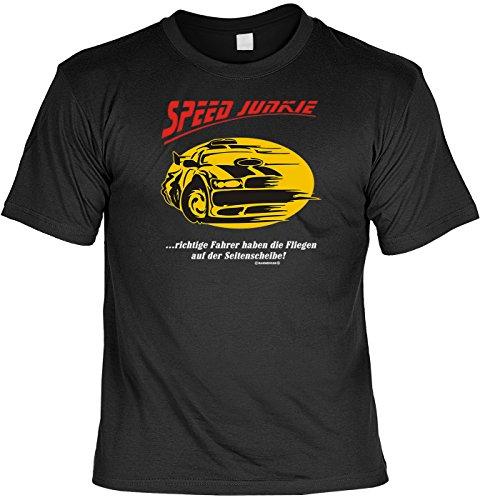 Biker Triker Shirt - SPEED Junkie - US-Shirt für echte Kerle Schwarz